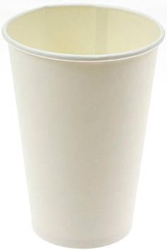 Стакан паперовий 340мл біл.(50)
