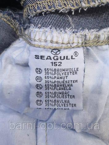 Джинсовий комбінезон для дівчаток , Seagull, в наявності 164 рр., фото 2