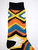 Прикольні чоловічі шкарпетки з етнічним принтом, фото 4