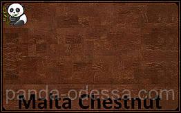 Пробковые панели (обои) Malta Chestnut TM Wicanders 600*300*3 мм