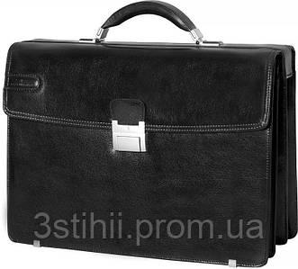 Портфель Vip Collection кожаный Y.30211.A Черный
