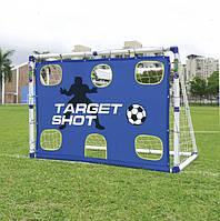 Футбольные ворота с зонами  2 в 1 , переносные 6 FT