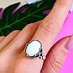 Серебряное кольцо с кахолонгом - Кольцо из серебра с кахолонгом, фото 9