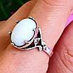 Серебряное кольцо с кахолонгом - Кольцо из серебра с кахолонгом, фото 5
