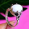Серебряное кольцо с кахолонгом - Кольцо из серебра с кахолонгом, фото 6