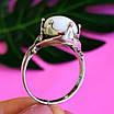 Серебряное кольцо с кахолонгом - Кольцо из серебра с кахолонгом, фото 2