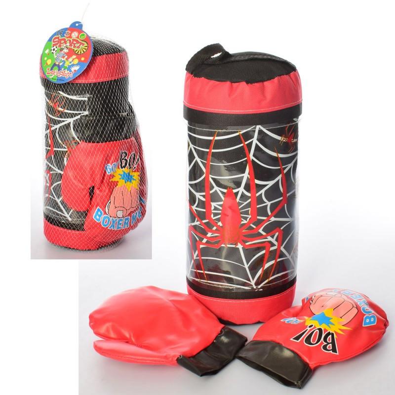 Детский боксерский набор (перчатки, груша)
