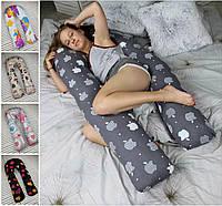Подушка для вагітних, подушка обнімашка Підкова