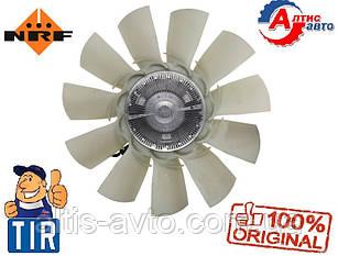 Вискомуфта DAF 105 Евро 5, CF 85 с крыльчаткой муфты вентилятора (электрическая) 1742083, 1732273, 1697677