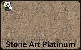Пробковые панели (обои) Stone Art Platinum TM Wicanders 600*300*3 мм
