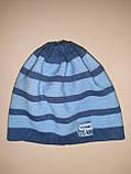 Детская демисезонная шапка для мальчика р.40-42 ТМ Barbaras, фото 3