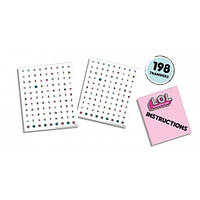 Набор наклеек для ногтей серии L.O.L SURPRISE! - МОДНЫЙ ЛУК Ses Creative 14193S