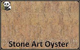 Пробковые панели (обои) Stone Art Oyster TM Wicanders 600*300*3 мм