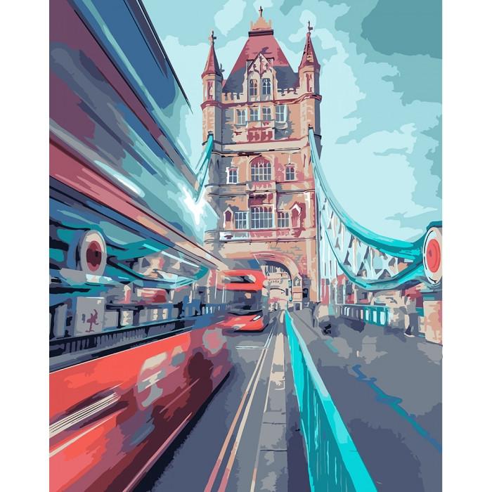 Картина по номерам Идейка - Динамический Лондон 40x50 см (КНО3570)