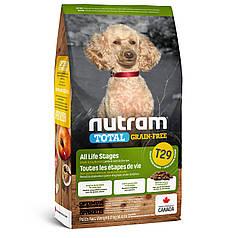 Сухой корм Nutram T29 Total Grain-Free Lamb & Lentils Small Breed Dog (беззерновой)