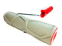 Валик с ручкой структурный резиновый каменная кладка камень сланец 250х60 мм для краски и шпаклёвки