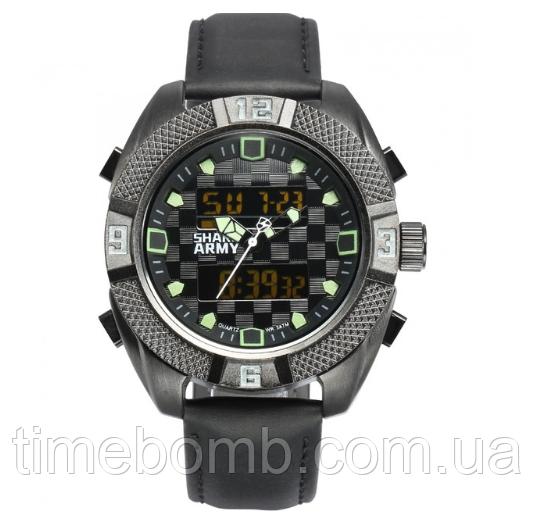 Мужские часы Shark Army Emergency зеленые
