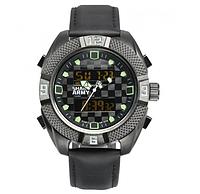 Мужские часы Shark Army Emergency зеленые, фото 1