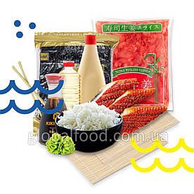 Набор продуктов «Суши Мастер mini» для приготовления сета роллов с угрём