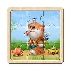 Пазл в рамке: Котик - 1