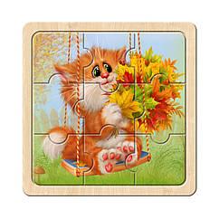 Пазл в рамке: Котик - 2