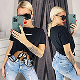 Женская футболка 35-1227, фото 2
