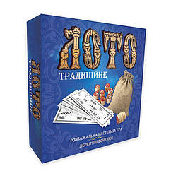 Настольная игра Лото с деревянными бочонками Strateg Традиционное (30315)