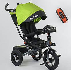 Велосипед детский трехколесный Best Trike 6088 фара с USB, пульт и поворотное сидение