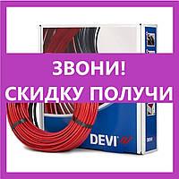 Нагревательный кабель Deviflex 18T 34м 615Вт (4,2м²), (140F1240), теплый пол в стяжку Devi, Деви кабельный