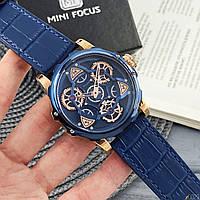 Часы наручные мужские кварцевые Mini Focus Синие