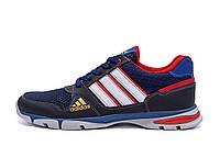 Мужские летние кроссовки сетка Adidas Tech Flex Blue (реплика), фото 1