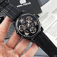 Часы наручные мужские кварцевые Mini Focus Чёрные