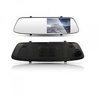 Зеркало заднего вида с видеорегистратором DVR A23 HD 1080p с двумя камерами, фото 1