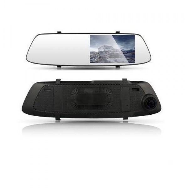 Зеркало заднего вида с видеорегистратором DVR A23 HD 1080p с двумя камерами