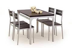 Комплект столовый Malcolm 110/70(дуб сонома)  (Halmar) венге