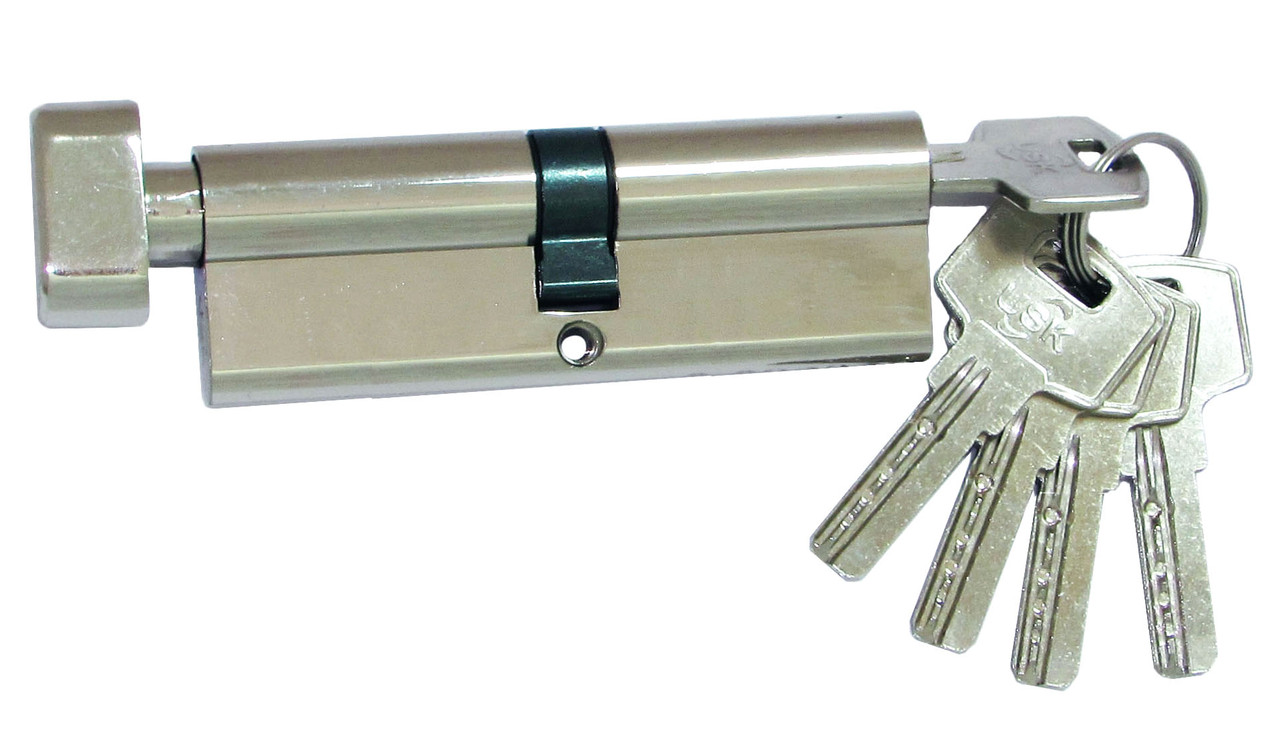 Цилиндровый механизм USK ZCi-90 (45x45) ключ/поворотник