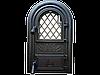 Дверцы печные со стеклом Vitrum. Дверцы для печи и барбекю (560х345мм)