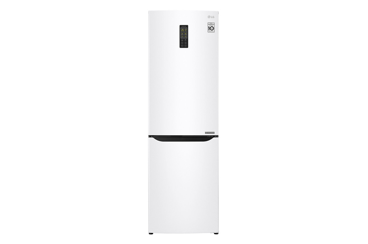 Холодильник с нижней морозилкой LG GA-B379SQUL
