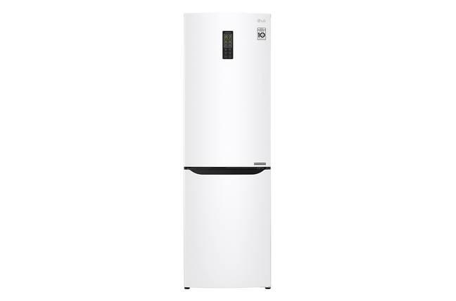 Холодильник с нижней морозилкой LG GA-B379SQUL, фото 2