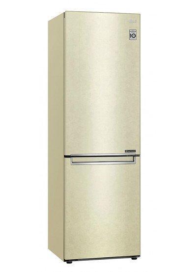 Холодильник с нижней морозилкой LG GA-B459SECM