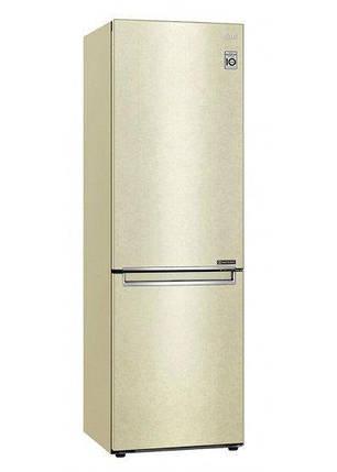 Холодильник с нижней морозилкой LG GA-B459SECM, фото 2