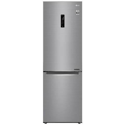 Холодильник с нижней морозилкой LG GA-B459SMQZ, фото 2
