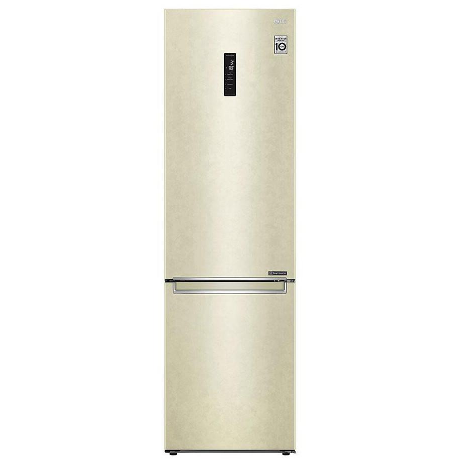 Холодильник с нижней морозилкой LG GA-B509SEKM