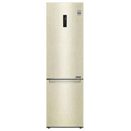 Холодильник с нижней морозилкой LG GA-B509SEKM, фото 2