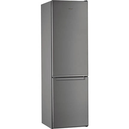 Холодильник с нижней морозилкой Whirlpool W7 911I OX, фото 2