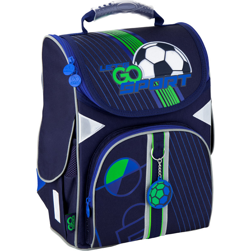 Рюкзак GoPack Education каркасний Football GO20-5001S-10