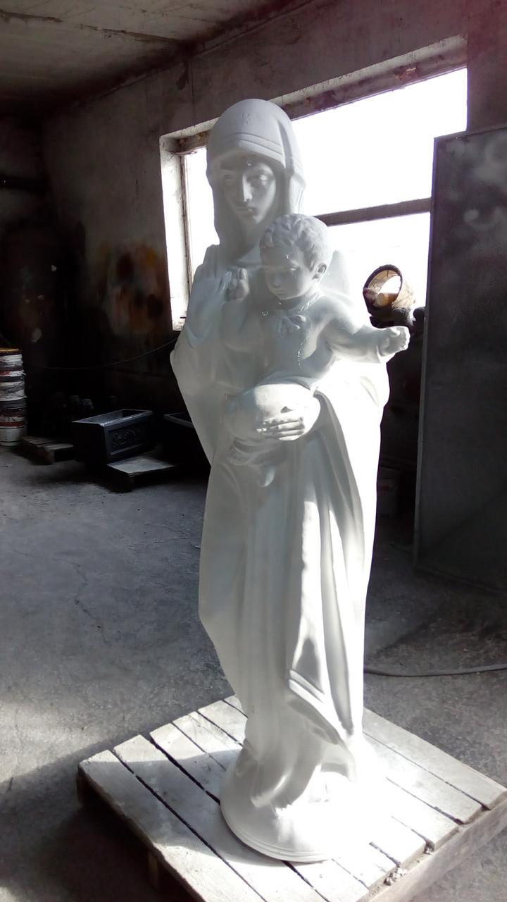 Скульптуры для памятников. Статуя Божьей Матери. Иисус 180 см бетон
