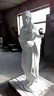 Скульптуры для памятников. Статуя Божьей Матери. Иисус 180 см бетон, фото 1