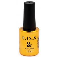 Топ для гель-лака F.O.X. Top Strong Gel, 12 мл