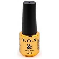 Топ для гель-лака F.O.X. Top Strong Gel, 6 мл